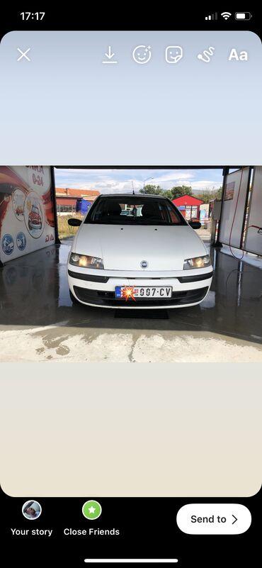 Manual - Srbija: Fiat Punto 1.9 l. 2002 | 238886 km