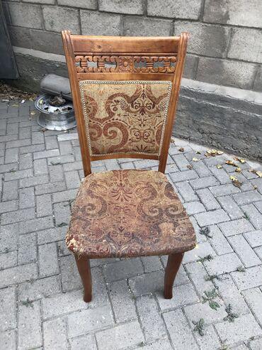 Продаю хорошие стульяесть около 7 штук каждая по 600сом