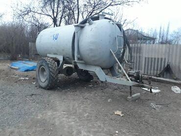 Yük və kənd təsərrüfatı nəqliyyatı - Ağstafa: Su ceni 6 ton ponpasi car hem cekir hemde apratqa veririr qiymet de