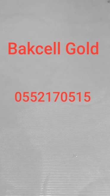 Bakı şəhərində - yeni Gold Bakcell