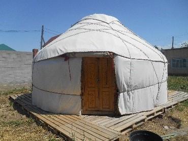 Юрты - Бишкек: Продаю войлочную юрту, новая обшитая брезентом все сделано