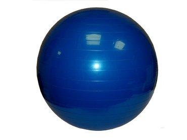 Мяч гимнастический (фитбол) синий в Бишкек