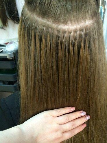 Наращивание волос акция волосы и работа 5500+800 сом. в Бишкек