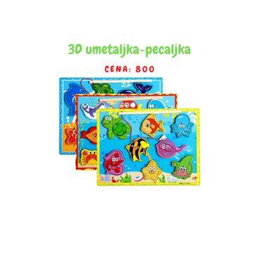 Magnet - Srbija: 3D PECALJKA SLAGALICA 800,00•Sjajna igračka koja spaja dve igračke u