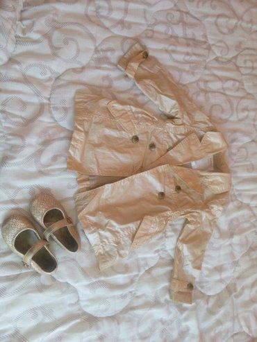 Dečija odeća i obuća   Bajina Basta: Prolecni kaputic i sandalice za princezu. Broj 25. Ocuveno