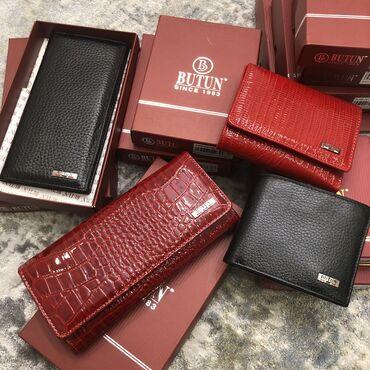 Мужские и женские портмоне и клатчи турецкого бренда BUTUN  100% из на