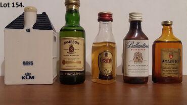 Reklamne flašice mini bottles unučići čokanji fraklići 6.Kao sa slika