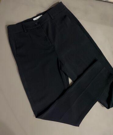 Офисные брюки на высокой посадке