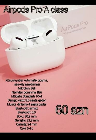 Airpods p30 max - Azərbaycan: Airpods pro