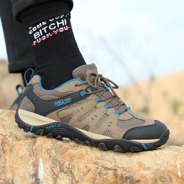 Мужская обувь - Кыргызстан: Летние треккинговые кроссовки ⠀отлично дышат агрессивный