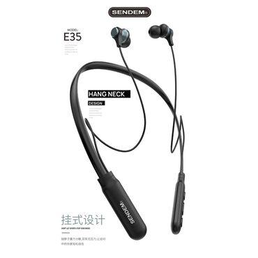 1269 объявлений: Беспроводные оригинальные наушники Sendem E35Версия Bluetooth 5.0 +