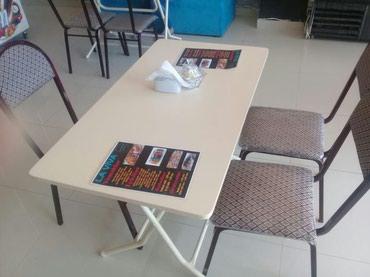kafe ucun stol stul - Azərbaycan: Stol stul desti satilir kafe ucun restoran ucun cay evi ucun doner evi