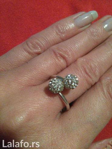 Srebrni prsten ( nov nenosen) - Kragujevac