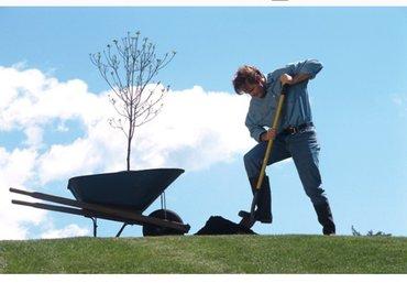 садовник предлагает все виды  садовых работ:1. посадка  фруктовых дере в Бишкек
