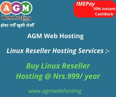 Buy Linux Reseller Hosting with 10%instant CashBack offerlet this