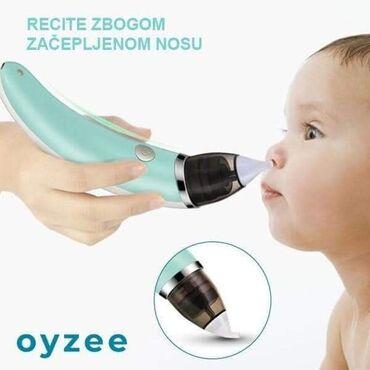 Vaš mališan ima opet začepljen nos? Teško diše? Recite zbogom