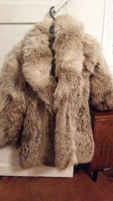 Волчья натуральная шуба для дам г. Балыкчы