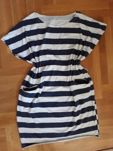 Mornarska haljina,tunika.Pamuk 36-38 veličina.Ima alkice za kaiš i - Belgrade