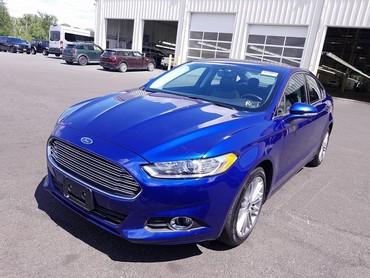 Ford Fusion 2 l. 2016 | 40658 km