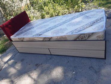 Односпальные кровати - Кыргызстан: Супер скидка!!!Кровать одна спальная размер 195×85наличии и на заказ