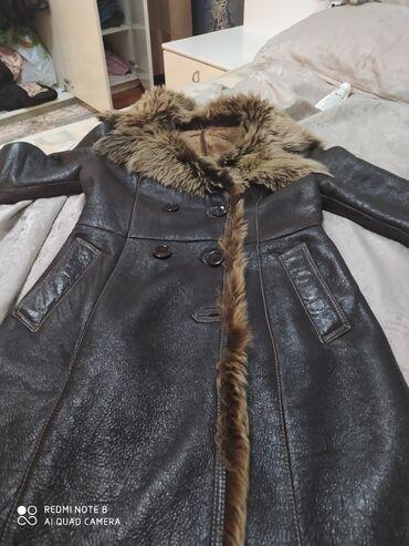 adidas m в Кыргызстан: Дублёнка кожаная) состояния хорошая) покупала за 18000) отдам за 5000!
