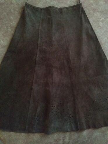 Suknja od prevrnute kože S vel