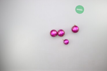 Дом и сад - Украина: Ялинкові прикраси кульки   Кількість: 4 шт. Діаметр: 9 см  Стан гарний