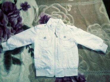 Куртка белая новая на 2 года