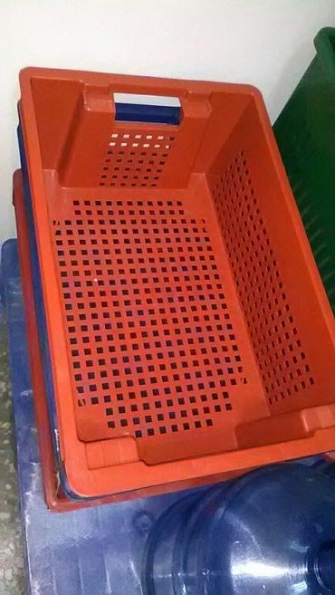 Ящики 60х40х20 прочные. цветные в Токмак