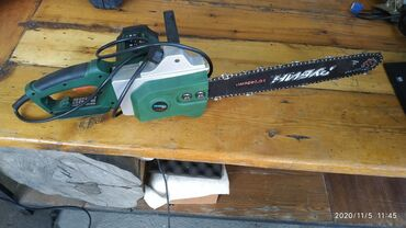 Электропила в отличном рабочем состоянии пару раз использовали цена