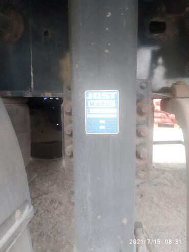 Транспорт - Чон-Таш: Лапы на полуприцеп Когел и для других прицепов