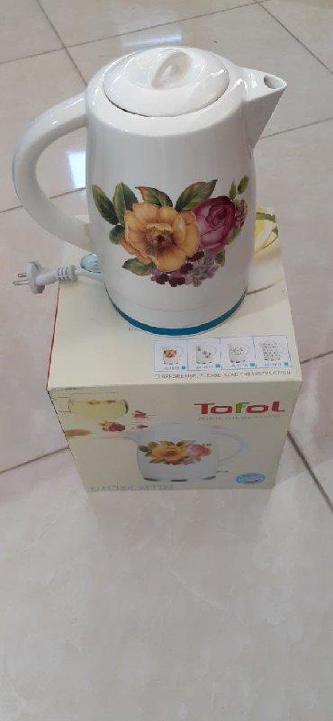 Keramika çaynik  Tokla işləyir  2 L su tutumu Bakı şəhər daxili çatdır