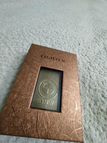 zippo зажигалки в Кыргызстан: Электрическая зажигалка BMW .  В ЦУМЕ стоит такая 1200 сом