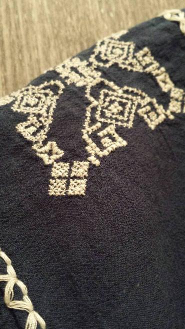 ZARA teget bluza sireg kroja. Velicina M. - Beograd - slika 4