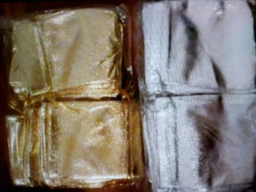 Vrećice za nakit pakovanje 100kom. U dve boje zlatna i siva - Beograd