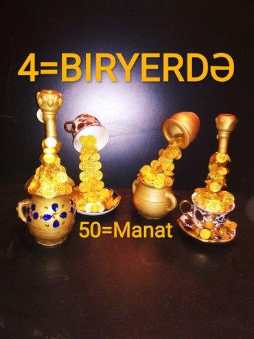 Bakı şəhərində Əl işləri biryerdə 4 -u alamag istəyən giymet 50 manata ///