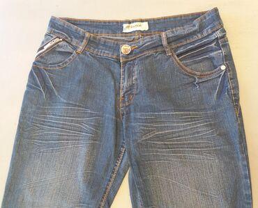 Farmerke plave - Srbija: Ženske Farmerke 32Polovne farmerke Lejiaxin jeans. Izuzetno očuvane