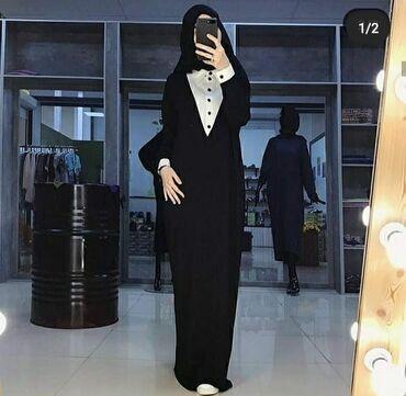 Qadın Geyimləri Göyçayda: Dress Sərbəst biçimli Moda L