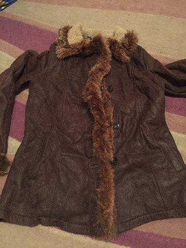 Шубы в Кыргызстан: Продаю кожаную легкую дубленку натуралку с мехом фирмы Christ размер