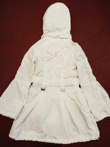 Детский мир - Кызыл-Кия: Куртка длинная (Весна/Осень) на девочку подростка в отличном