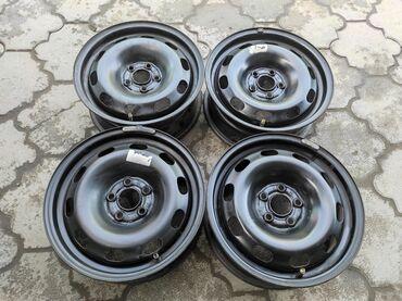 купить диски для машины в Кыргызстан: Железные диски GOLF 4Диаметр R15Сверловка 5*100Ширина 6.0jВылет
