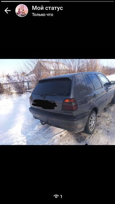 Volkswagen Golf 1993 в Теплоключенка