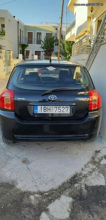 Toyota Corolla 1.6 l. 2005 | 187000 km