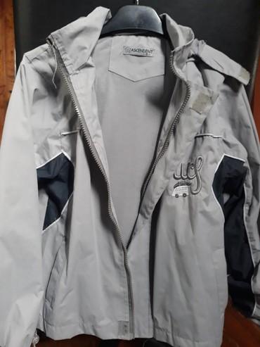 Dečije jakne i kaputi | Pancevo: Siva jakna za jesen i prolece nepromociva bez ostecenja vel.8 nisena