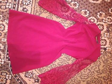 Платье красного цвета в Бишкек