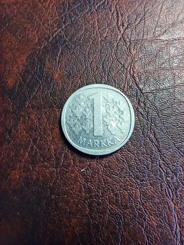Kovanica 1 markka Finska