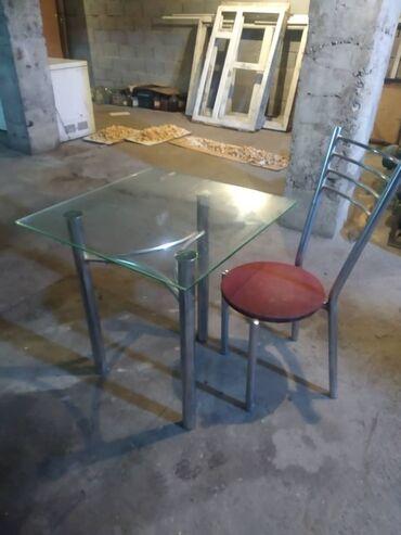 продажа токарных станков бу в Кыргызстан: Срочно продаю, Стеклянный столик и стул 2штВсе в отличном состоянии