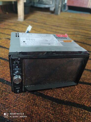 Магнитола монитор автоэлектроникаbluetoothauxvideomusic сенсорный