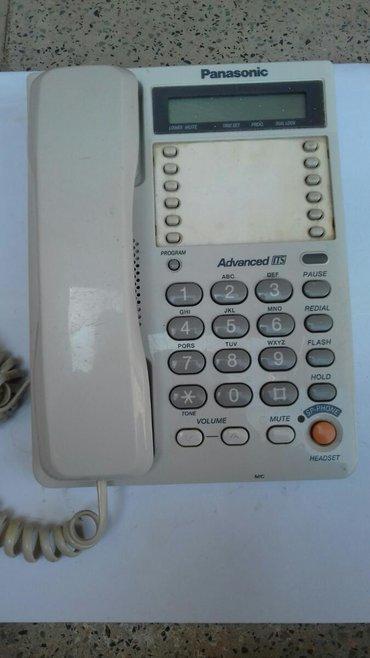 akkumulyator panasonik в Азербайджан: Panasonik telefonu satılır səliqəli və işlək vəziyyətdə 12
