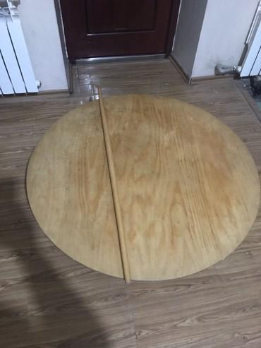 Круглый стол и скалка  в Кок-Ой